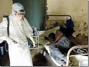 pasien korban penyakit ebola