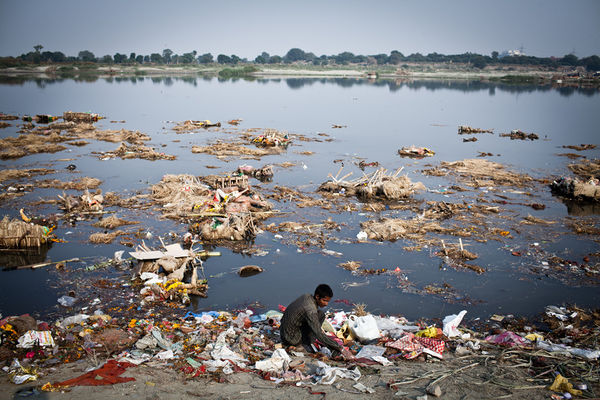 introduction of pollution in india